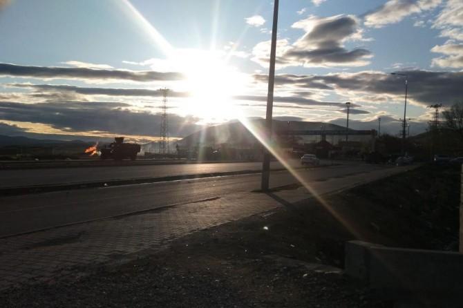 Doğubayazıt'taki doğalgaz boru hattının vanaları patlamanın ardından kapatıldı