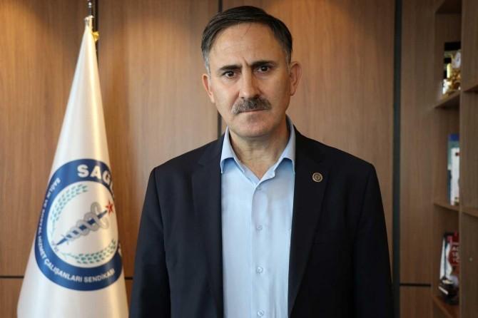 """Sağlık-Sen Genel Başkanı Semih Durmuş, """"Sağlık çalışanlarına haksızlık yapılmasın"""""""