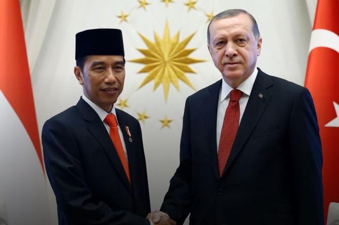 Cumhurbaşkanı Erdoğan, Endonezya Cumhurbaşkanı ile telefonda görüştü