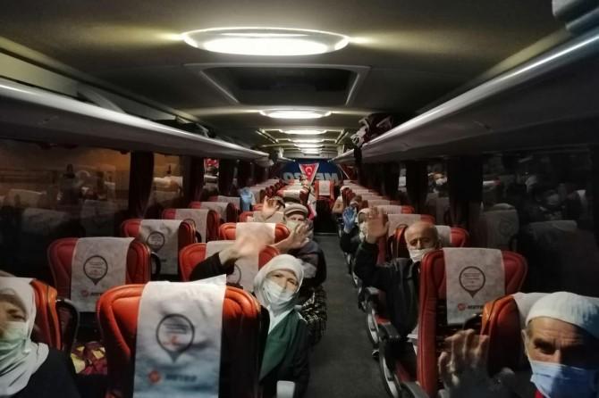 Umre dönüşü karantinaya alınan 168 kişi tahliye edildi