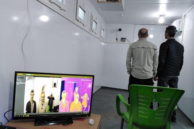 Barış Pınarı Bölgesi termal kameralarla salgından korunacak