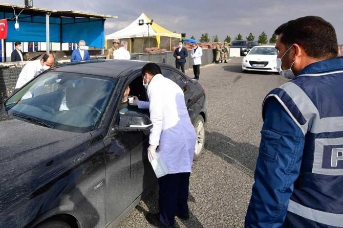 Gaziantep'e gelen özel araçlar 14 günden önce başka kente gidemeyecek
