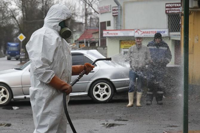 Rusya'da Coronavirus vaka sayısı 3548'e ulaştı