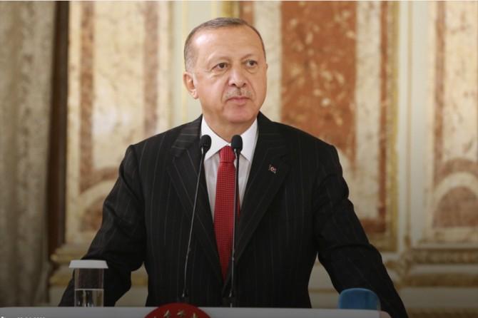 """Cumhurbaşkanı Erdoğan: """"Süreci inşallah örnek bir sınav vererek atlatacağız"""""""
