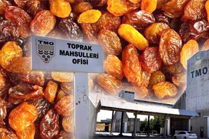TMO çekirdeksiz kuru üzüm satışına başladı