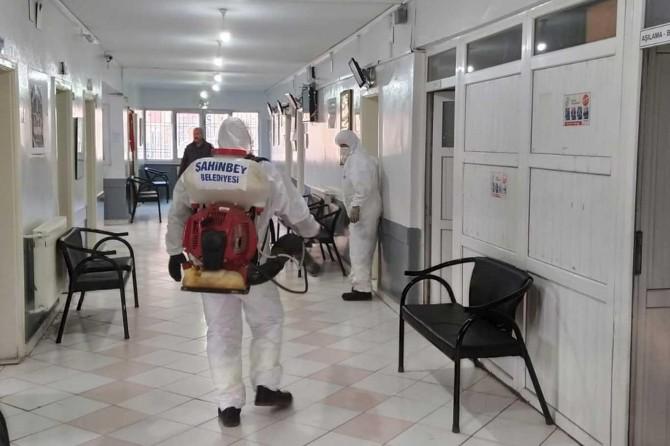 Gaziantep'te aile sağlık merkezleri dezenfekte edildi