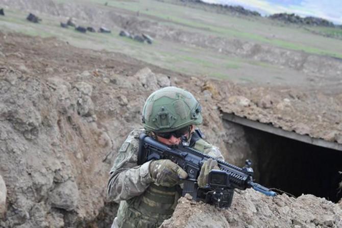 MSB: Barış Pınarı bölgesinde 4 PKK/YPG'li terörist etkisiz hale getirildi