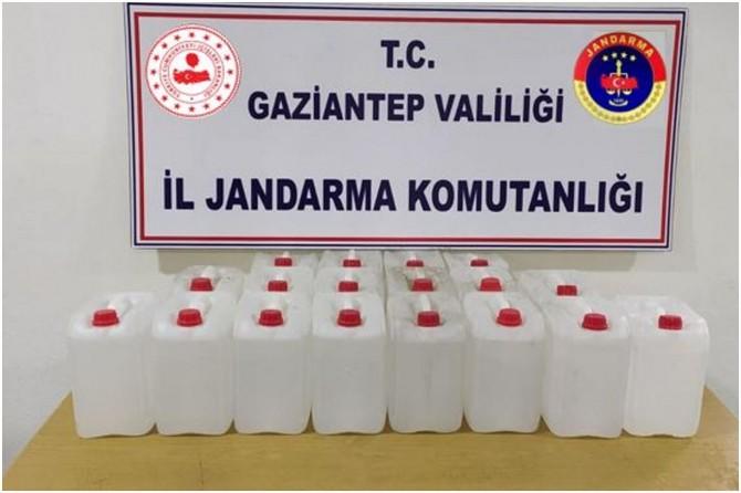 Gaziantep'te sahte dezenfektan operasyonunda 7 kişi gözaltına alındı