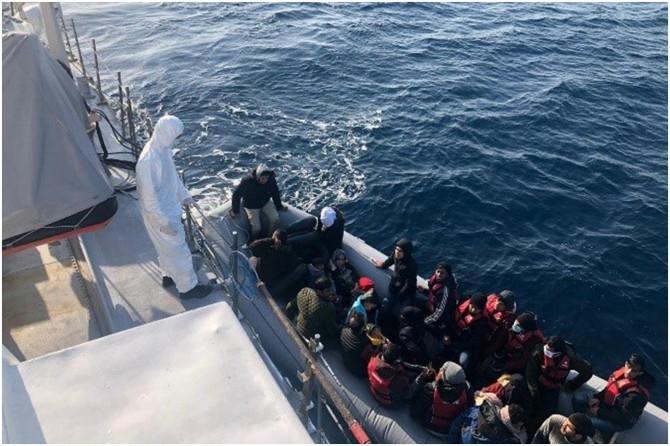 Bir haftada 196 düzensiz göçmen yakalandı