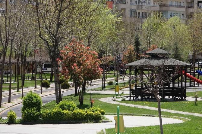 Diyarbakırlılar hafta sonu park yasağına uydu