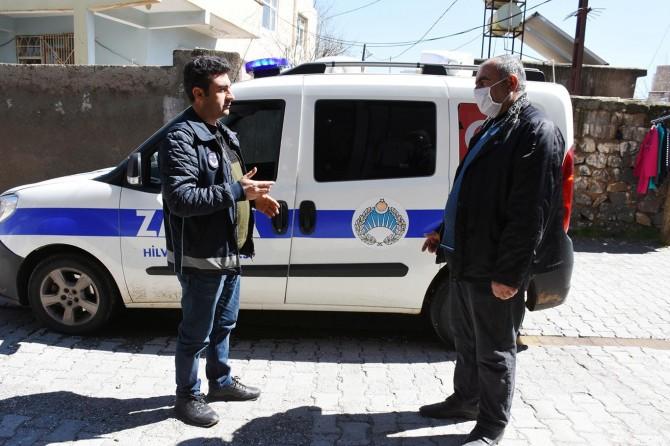 Hilvan Belediyesi zabıta ekipleri salgına karşı denetimlerini arttırdı