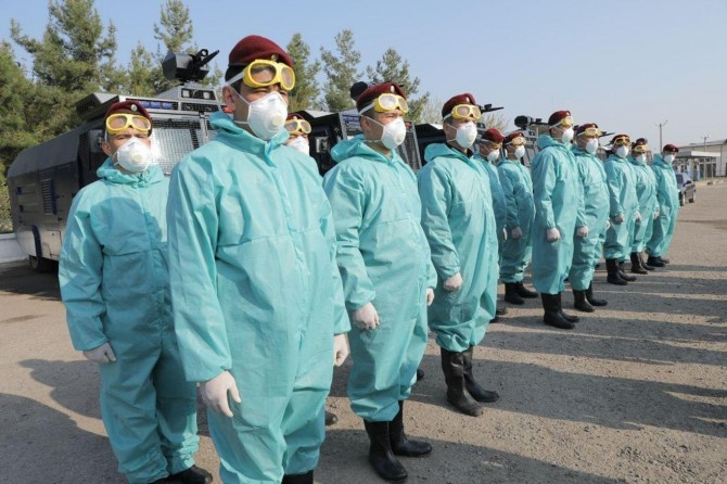 Özbekistan'da Coronavirus nedeni ile ulusal karantina kararı alındı