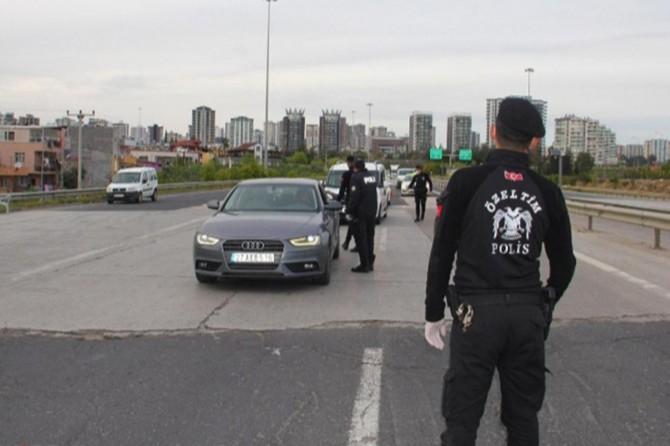 Adana Tufanbeyli'ye karantina gerekçesi ile giriş çıkışlara izin verilmiyor