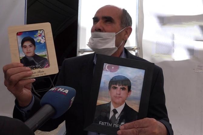 Evlat nöbetindeki baba: PKK, oğluma silah zoruyla röportaj yaptırdı