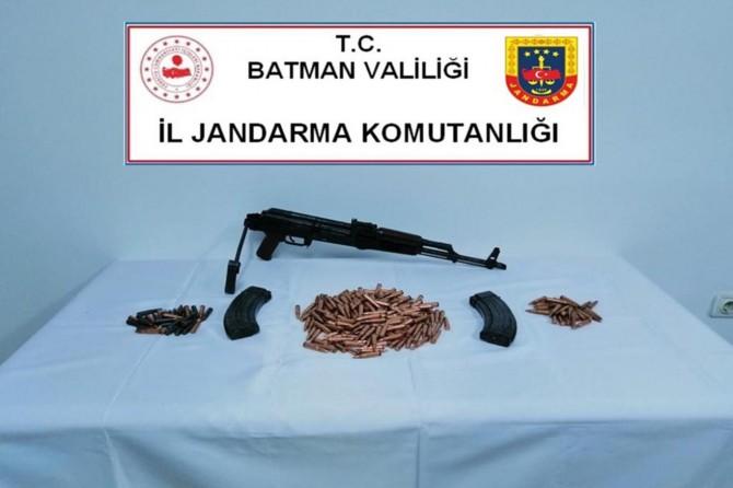 Batman'da silah kaçakçılığı yaptığı iddiasıyla bir şüpheli yakalandı