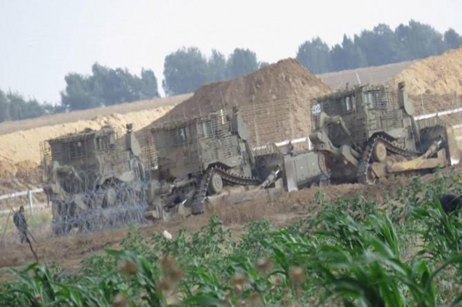 Siyonist işgalciler Gazze Şeridi'ne yine saldırdı
