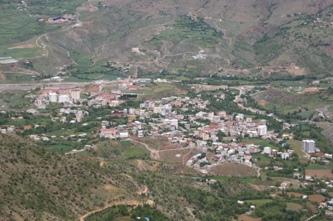 Sason ilçesi Ergünü köyünde bir ev karantinaya alındı