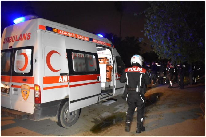 Adana Yüreğir'de silahlı saldırı: 1 ölü