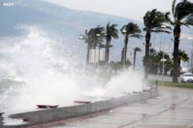 Meteorolojiden Marmara ve Kuzey Ege için kuvvetli rüzgâr uyarısı