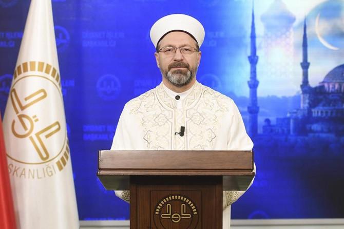Diyanet İşleri Başkanı Erbaş'tan Berat Gecesi mesajı: Beraberce dua edelim