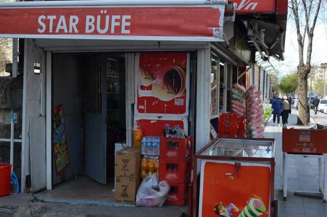 Diyarbakır'da büfeyi soymaya çalışan hırsızlar tutuklanınca çete üyeleri büfe sahibini tehdit etti