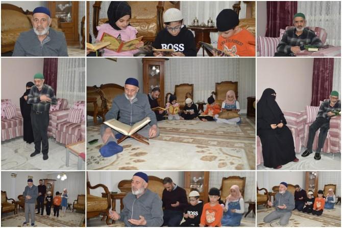Ağrılılar, camiye çevirdikleri evlerinde Beraat Kandilini ihya ettiler