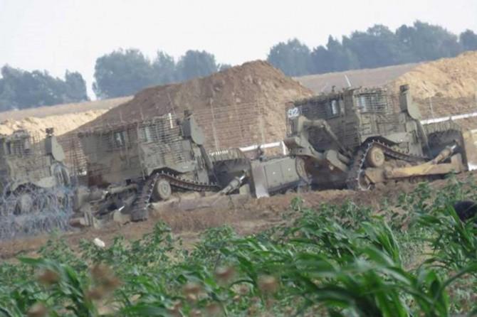 Siyonist işgal çetesinin Gazze şeridine girme küstahlığı