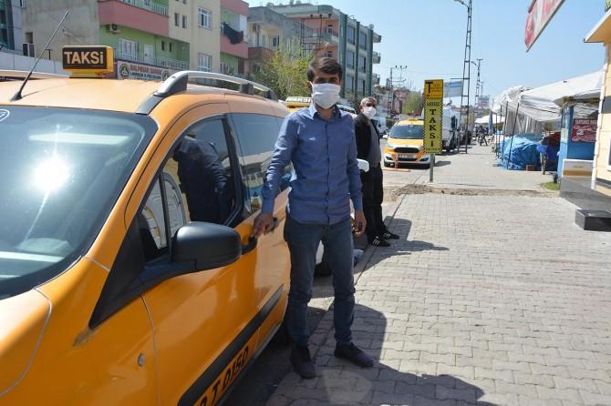 Batman'da taksici esnafı: İşlerimiz yüzde 90 oranında düştü
