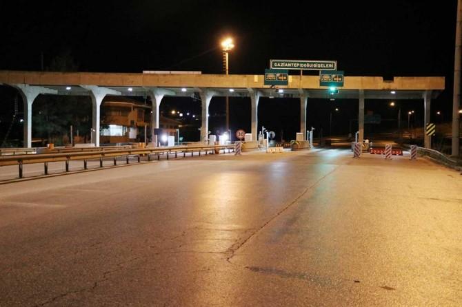 Gaziantep'te 634 araç kara listeye alındı