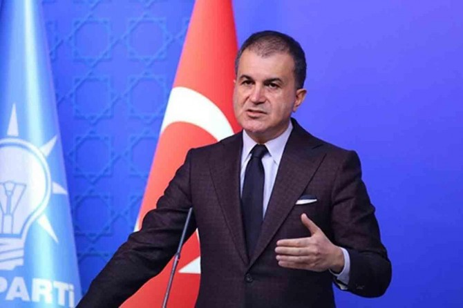 AK Parti Sözcüsü Çelik: Mazlum halkların kanına giren her kirli projenin içinde PKK var