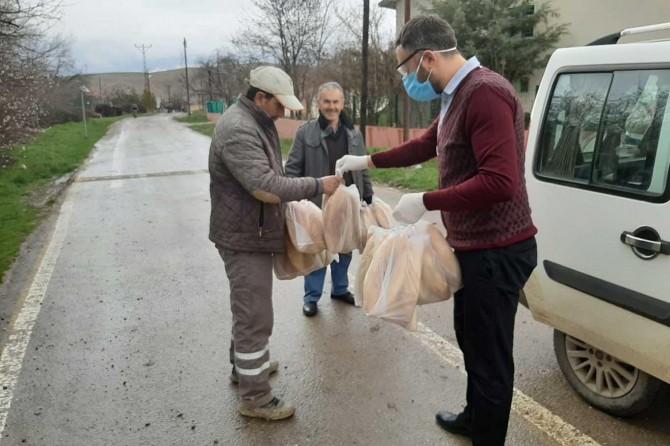 Malatya'da Vefa Sosyal Destek Grubu 26 bin talebi karşıladı