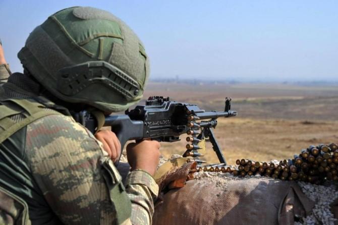 MSB: Sızma ve saldırı girişimde bulunan 6 PKK'li öldürüldü