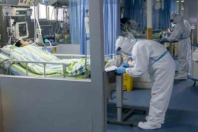 The number of confirmed coronavirus cases exceeds 157,000 in Spain