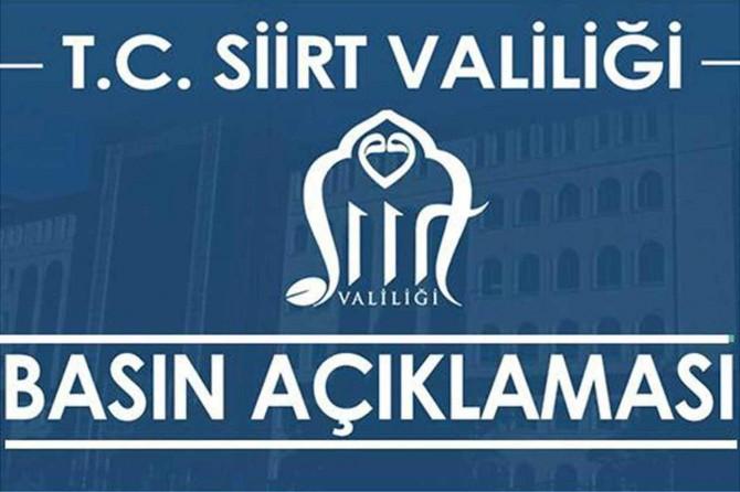 Siirt Pervari'de Tuzcular Köyü için karantina kararı alındı