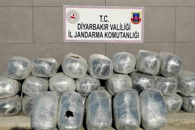 Hani'de uyuşturucu operasyonu: 305 kilogram esrar ele geçirildi