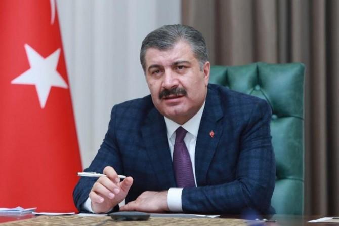 Sağlık Bakanı Fahrettin Koca: Vaka artış hızının düşmesi filyasyon yöntemi sayesinde oldu