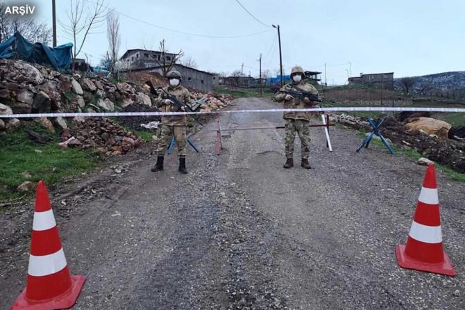 Aladağ'ın Gerdibi Mahallesi karantinaya alındı