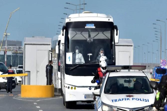 Hollanda'dan 349 Türkiye vatandaşı Samsun'a getirildi