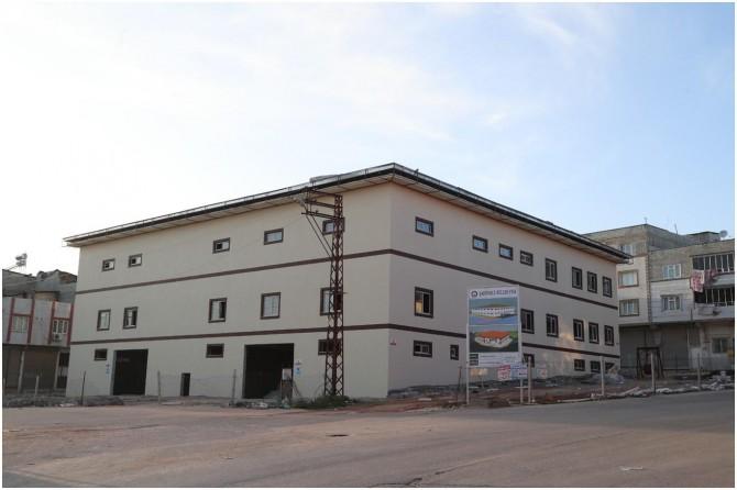 Gaziantep'te ihtiyaç sahipleri için aşevi inşa ediliyor