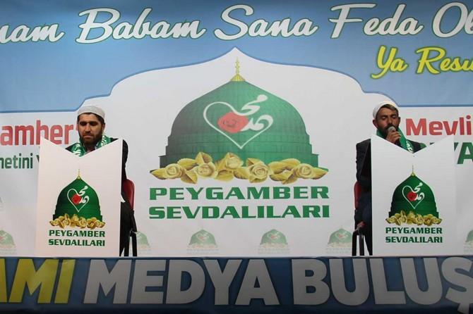 """Diyarbakır """"Medya Mevlid Buluşmaları"""" etkinliği başladı"""