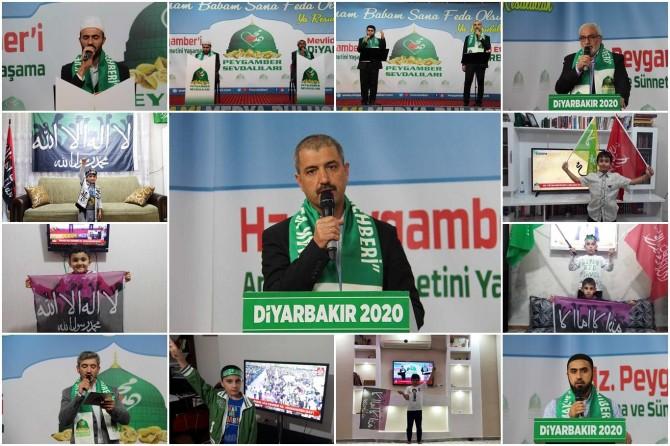 Diyarbakır Medya Mevlid Buluşmaları etkinliği düzenlendi