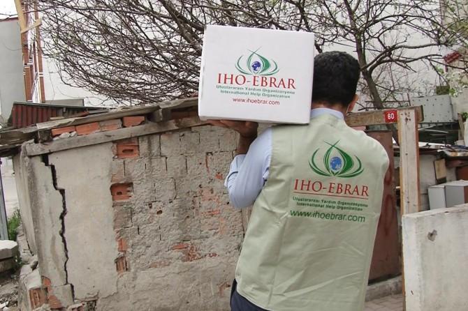 IHO Ebrar, Türkiye'de Ramazan ayı yardım çalışmalarına başladı