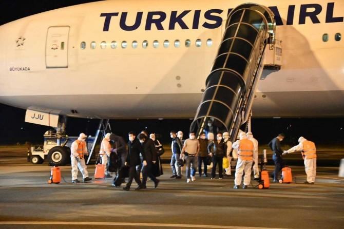 Ürdün'den dönen vatandaşlar Samsun'da karantinaya alındı