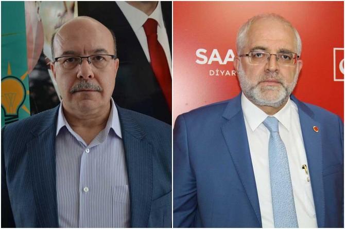 AK Parti ve Saadet Partisi Diyarbakır il başkanlarından Erbaş'a destek