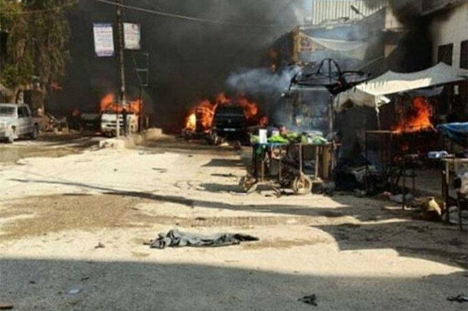 Afrin'deki PKK saldırısına ilişkin bir kişi yakalandı