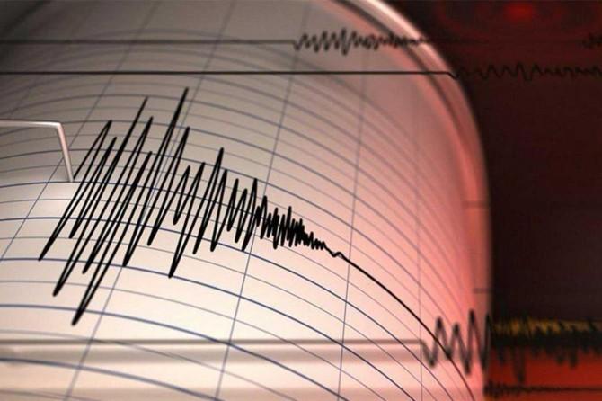 Süleymaniye'de 4,6 büyüklüğünde deprem