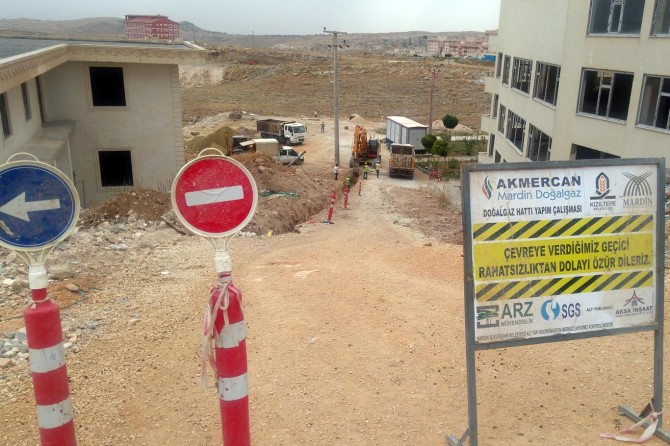 Mardin'in Mazıdağı ve Savur İlçelerinde doğalgaz altyapı çalışması başlatılacak