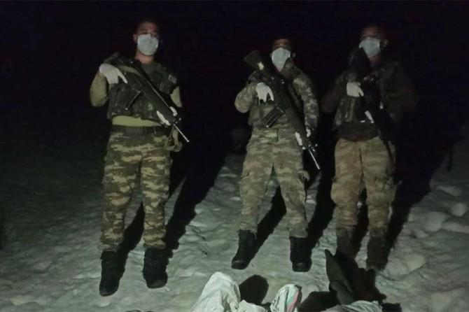 Hakkâri'de sınırı geçmeye çalışan 4 şüpheli yakalandı