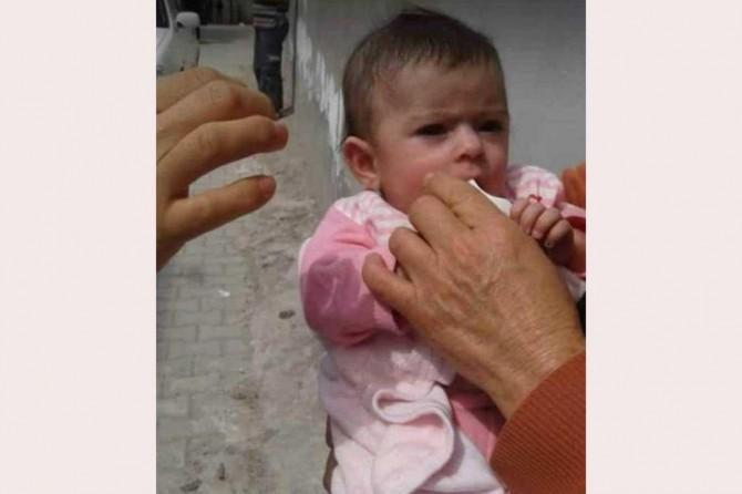 Suruç'ta 3 aylık bebek çöpe atıldı