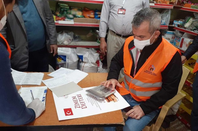 Gaziantep'te 22 mahallede 200 bakkalın borçları ödendi